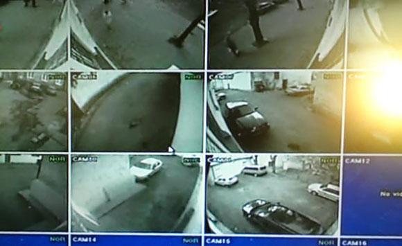 Stebėjimo kamerų vaizdas