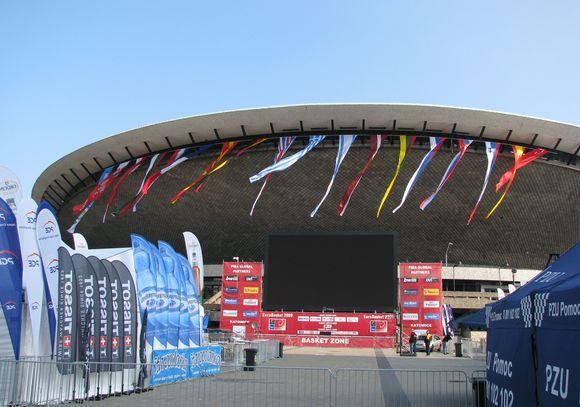 """""""Spodek"""" arena Katovicuose per atkrintamąsias varžybas nė karto nebuvo pilna"""