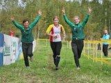 Mil.ee/orienteering nuotr./Lietuvos atstovės (iš kairės eilinės I.Sargautytė, I.Valaitė ir S.Paužaitė) sidabro medalį iškovojo estafečių varžybose