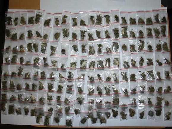 Vilniečio namuose rasti narkotikai