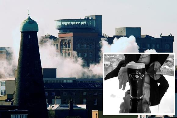 """""""Guinness"""" alaus darykla Airijoje"""