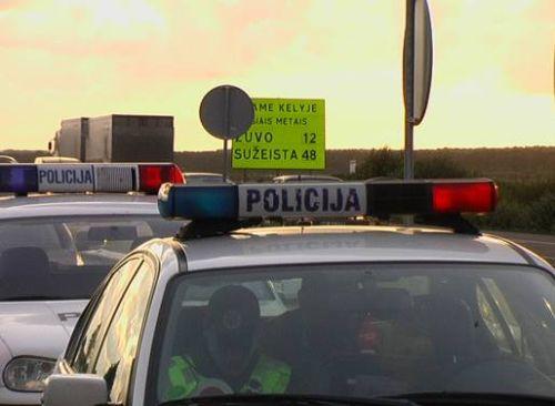 Policininkai sučiupo 16 eismo pažeidėjų.