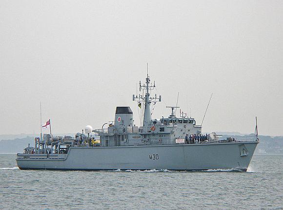 """""""Hunt"""" klasės laivas """"Ledbury"""""""