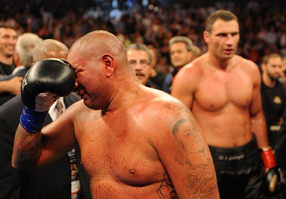 Ch.Arreola kelias minutes verkė po pralaimėjimo
