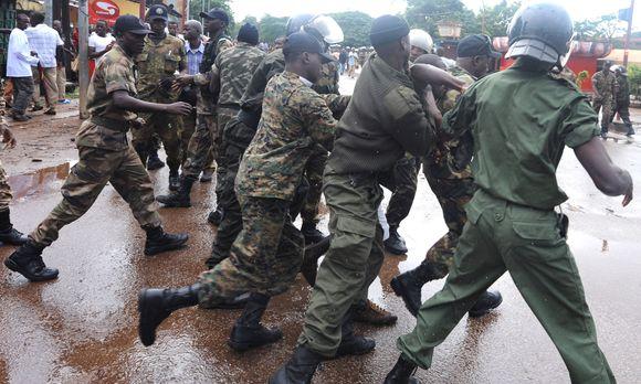 Protestas Gvinėjoje