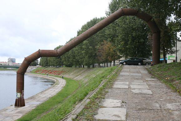 """Vlado Urbanavičiaus """"Krantinės arka"""""""