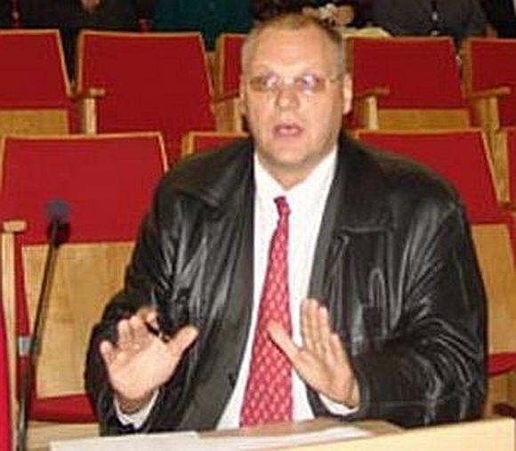 """asociacijos """"Nacionalinis teisėjų drausminės atsakomybės centras"""" prezidentas Saulius Vaikšnoras"""