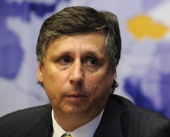Čekijos premjeras Janas Fischeris.