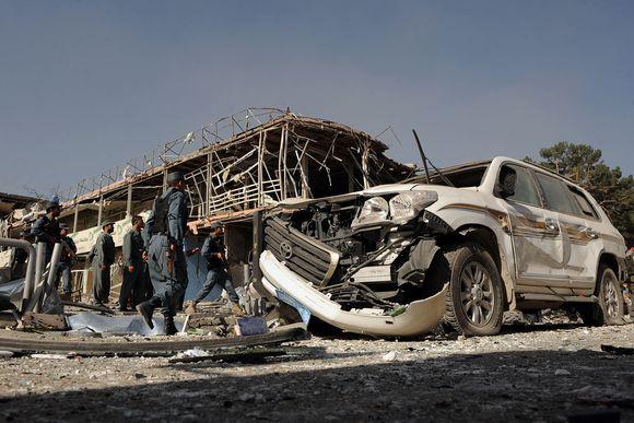 Kabule nugriaudėjo stiprus sprogimas