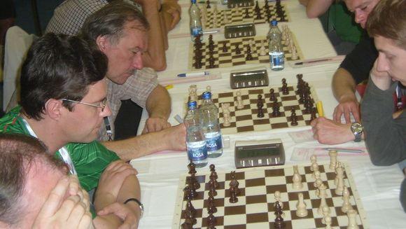 Vilniečiai šachmatininkai įveikė kauniečius.