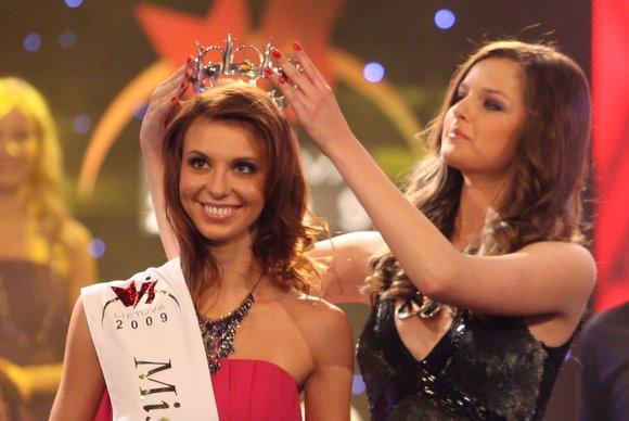 "Grožio konkurso ""Mis Lietuva 2009"" akimirkos."