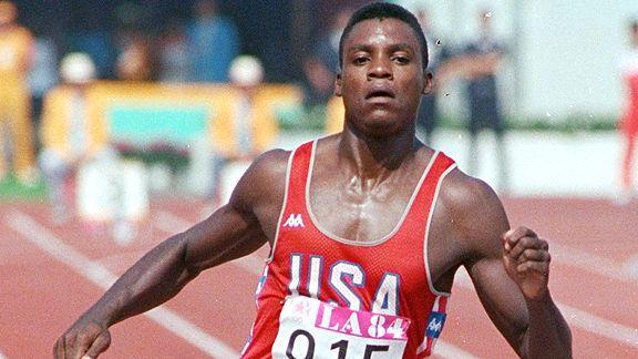Carlas Lewisas 1984 metais Los Angeles olimpinėse žaidynėse