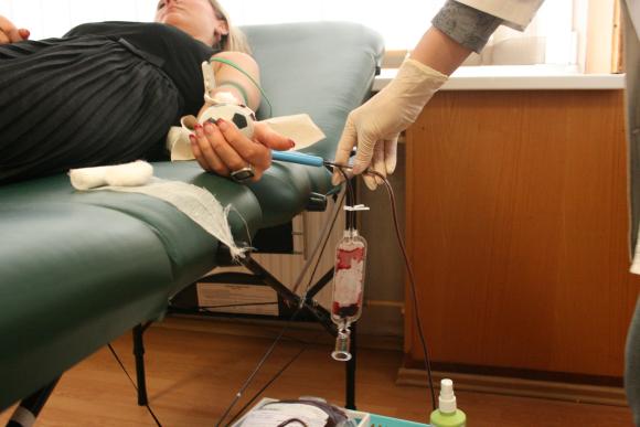 Klaipėdos savivaldybėje kraujo donorais tapo 14 darbuotojų.