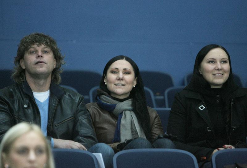 Foto naujienai: Anželika Cholina ir Rimvydas Martinaitis: susižavėję ledo rituliu