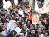 """AFP/""""Scanpix"""" nuotr./Protesto akcija prieš abortų liberalizavimą Madride."""