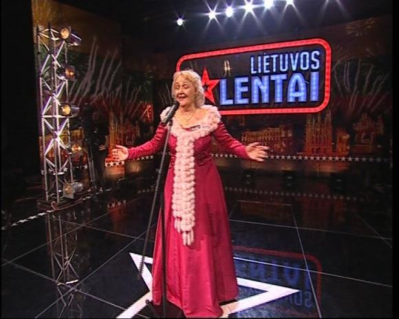 "TV3 ""Lietuvos talentų"" dalyvė Elena Grumbiniene"