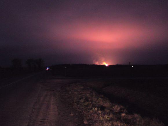 Širvintų rajone sprogo dujotiekio vamzdis