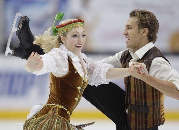 Reuters/Scanpix nuotr./Amerikietės K.Copely ir lietuvio D.Stagniūno pora bendroje įskaitoje aplenkė tik duetą ia Vokietijos