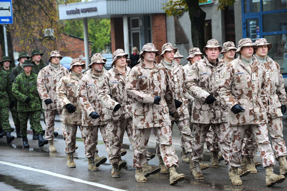 Į Afganistaną išlydimi Lietuvos kariai