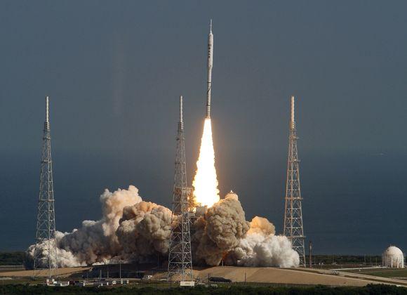 NASA sėkmingai išbandė naują raketą