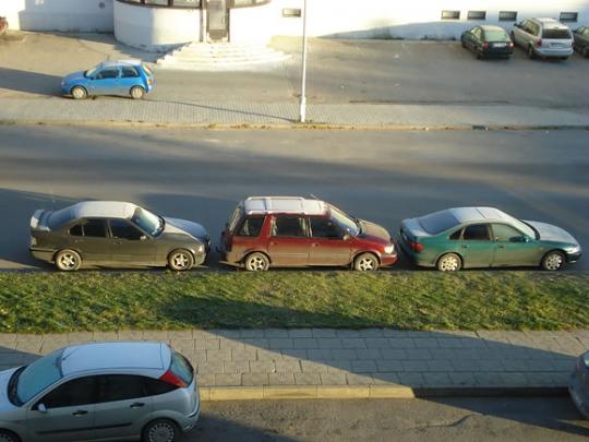 Netinkamas parkavimasis