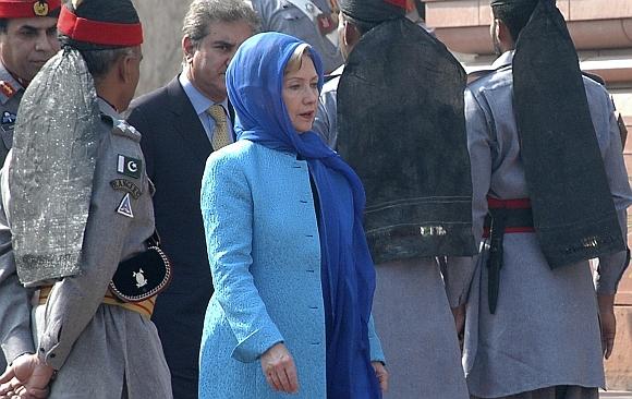 Hillary Clinton Pakistane
