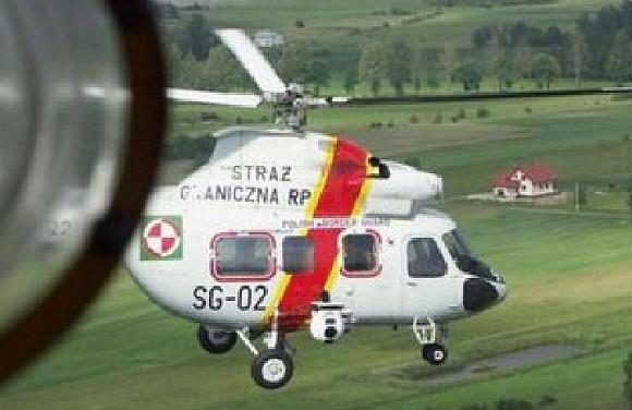 Lenkijos pasieniečių sraigtasparnis