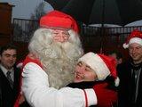 Organizatorių nuotr./Tikrasis Kalėdų Senelis