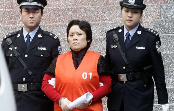 Kinijos mafijos Krikštamotė