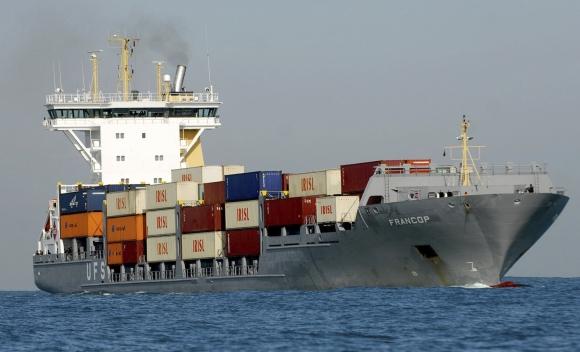 """Antigvoje registruotas laivas """"Francop"""" gabeno šimtus tonų šaudmenų ir sprogmenų."""