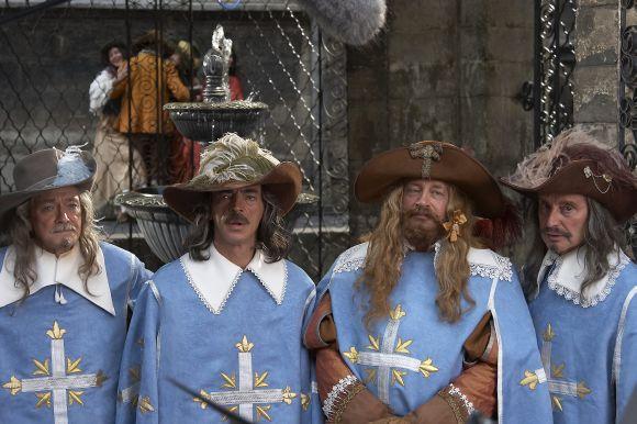 """Filmo ,,D'Artanjanas ir trys muškietininkai"""" kadrai"""