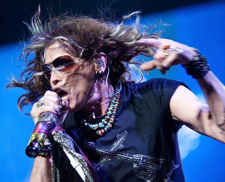 """Aerosmith"" vokalistas Stevenas Tyleris"