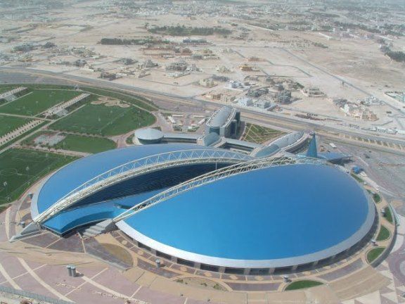 """Aspire Dome""  arena Dohoje"