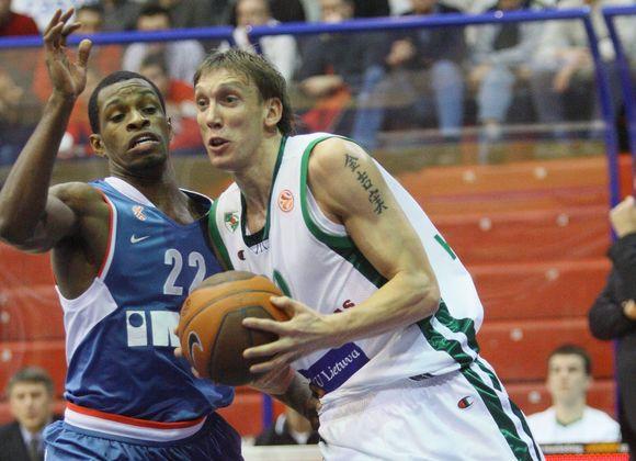 D.Šalenga Zagrebe per 37 minutes pelnė 6 taškus ir atkovojo 6 kamuolius