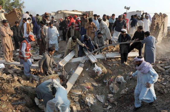 Sprogimas Pakistane, Peshaware