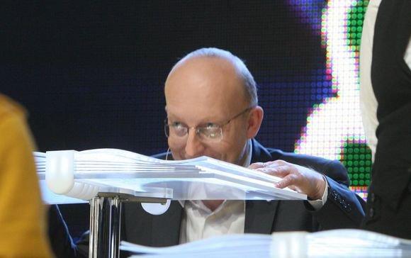 Irmanto Gelūno/15min.lt nuotr./ventinėje laidoje Lietuvos tūkstantmečio vaikai varžėsi moksleiviai ir politikai.