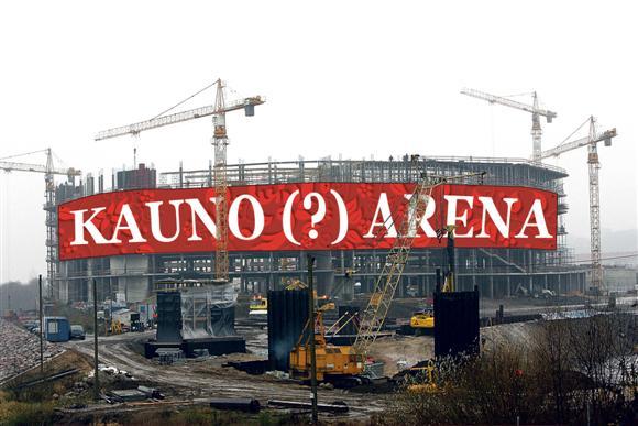 Kitų metų rudenį pradėsiančios veikti arenos pavadinimas jau aiškus - kylantis statinys gaus legendinės komandos vardą.