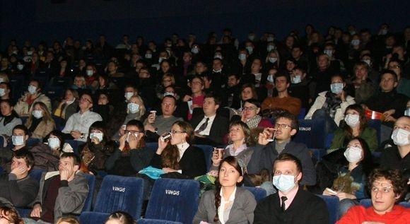 Vilniuje kino salės buvo pilnutėlės