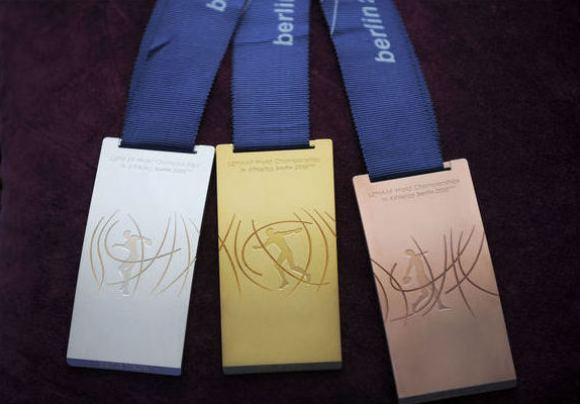 Pasaulio lengvosios atletikos čempionato Berlyne medaliai