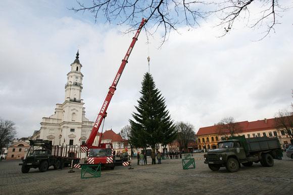 Kaunas ruošiasi Kalėdoms