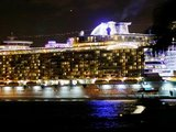 "AFP/""Scanpix"" nuotr./Naujasis laineris ""Oasis of the seas""."