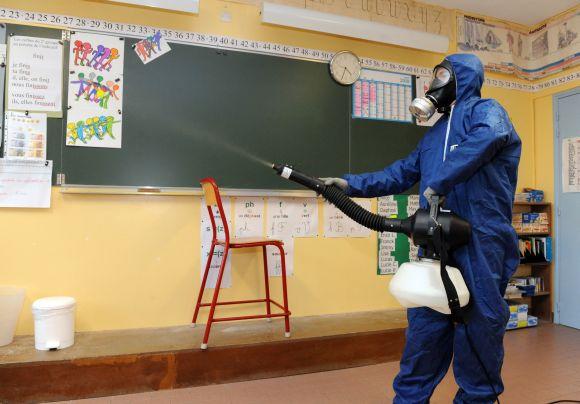 Mokyklos dezinfekcija