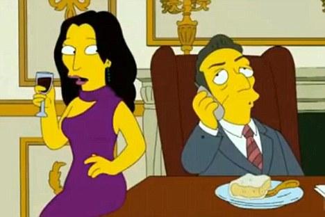 """Pirmoji Prancūzijos pora """"Simpsonuose"""""""