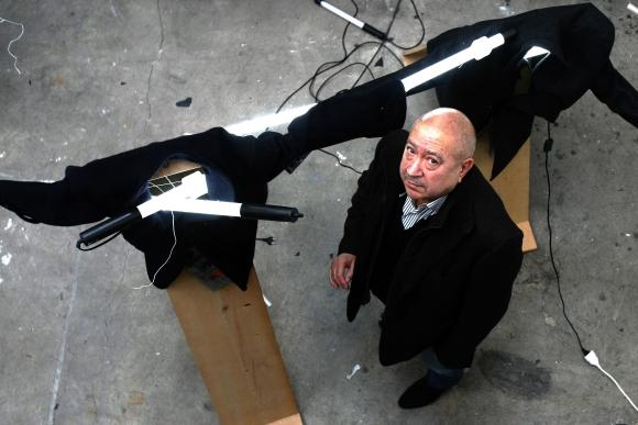 Christianas Boltanski savo studijoje