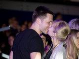 Viganto Ovadnevo nuotrauka/Egidijus Dragūnas bučiuoja Eleonorą