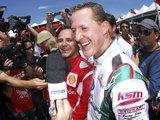 """""""Reuters""""/""""Scanpix"""" nuotr./Kartų lenktynėse triumfavo M.Schumacheris"""