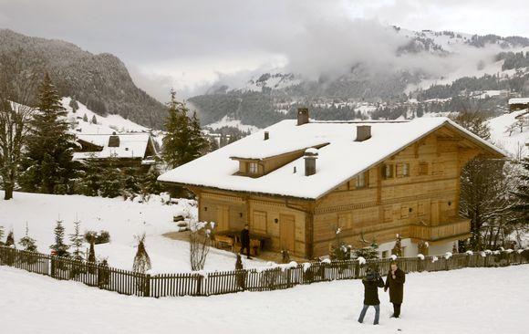 R.Polanskis penktadienį atvyko į kalnų namelį Šveicarijoje