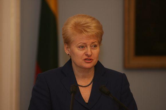 Lietuvos Respublikos Prezidentė Dalia Grybauskaitė priėmė Lietuvoje viešintį Europos Sąjungos Prezidentą Hermaną van Rompuy.