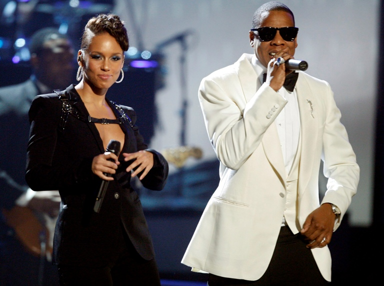 Alicia Keys ir Jay-Z
