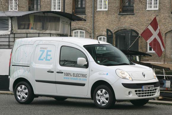 """""""Renault Kangoo Z.E."""" prototipas"""